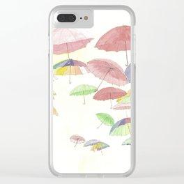 rainbow walk Clear iPhone Case