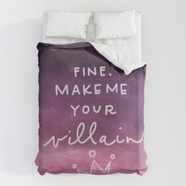 Villain Duvet Cover