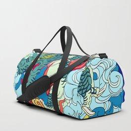 Tokyo Asakusa Dragon Duffle Bag