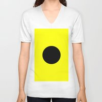 india V-neck T-shirts featuring India Flag by Fun With Flags
