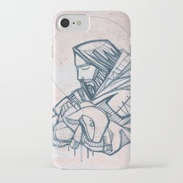 Jesus Christ Good Shepherd iPhone Case