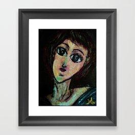 AWESOME GIRL Framed Art Print