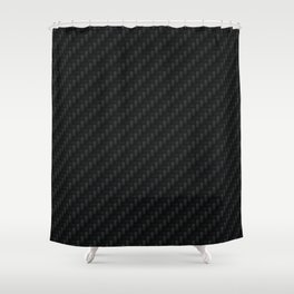 Carbon Fiber Shower Curtain