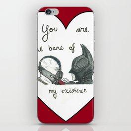 Caught in a Bat-Romance iPhone Skin