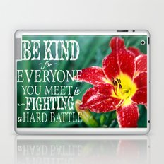 Be Kind - In Red Laptop & iPad Skin
