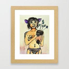 Creature Feature Framed Art Print