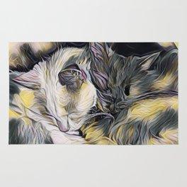 """""""Cat Love"""" Rug"""