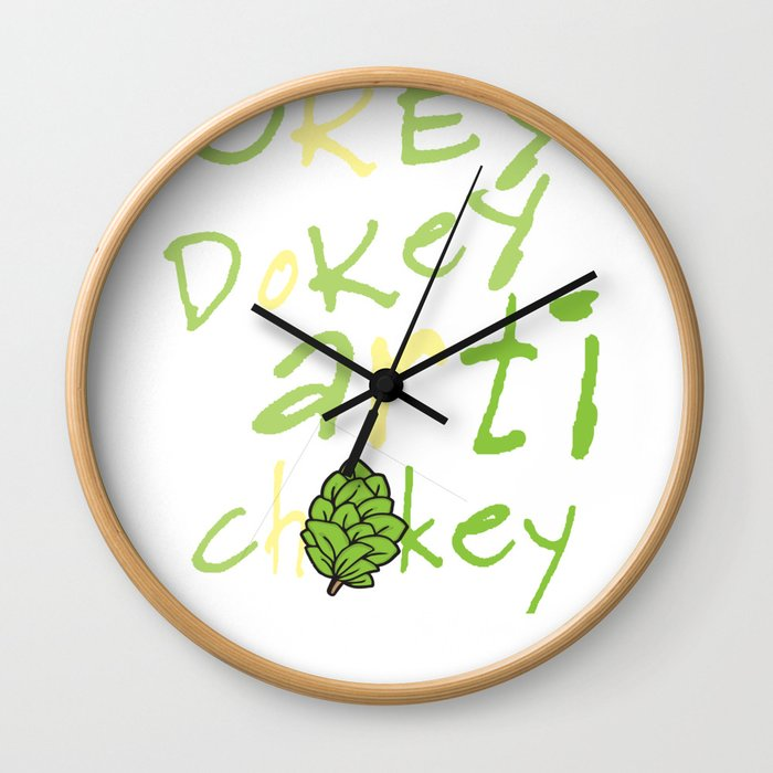 Funny Vegan Artichoke Vegetable product Wall Clock
