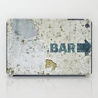 bar iPad Cases featuring BAR by ollily