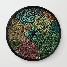 Ink  Pattern No.4 Wall Clock
