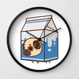 Puglie Milk Carton Wall Clock