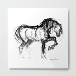 Horse (Saklavi) Metal Print