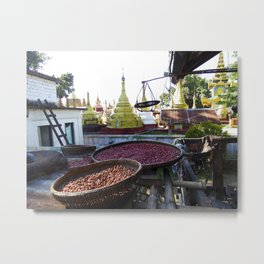 View from the Nunnery, Myanmar Metal Print
