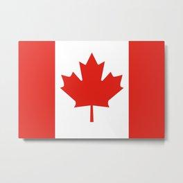 Canada flag Metal Print