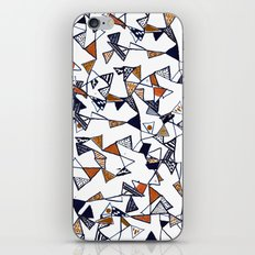 Triangles, Triangles, Triangles. iPhone & iPod Skin