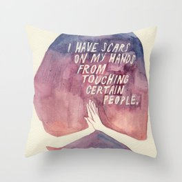 From Touching People Throw Pillow