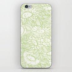 Flower Ladies iPhone & iPod Skin