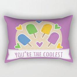 Coolest Food Pun Rectangular Pillow