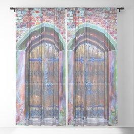Knock Knock Sheer Curtain