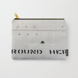 GROUND HERE Carry-All Pouch