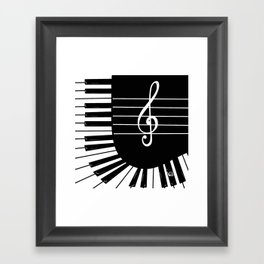 Piano Keys I Framed Art Print