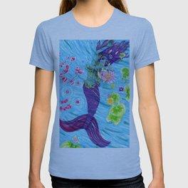Floral Mermaid T-shirt