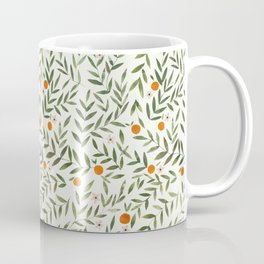 Oranges Foliage Coffee Mug