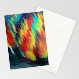 Northern Lights Stationery Cards