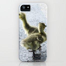 Goslings iPhone Case