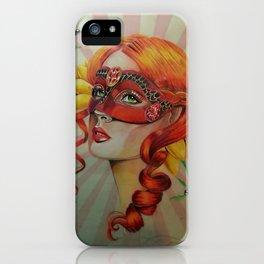 Venetian Girl iPhone Case
