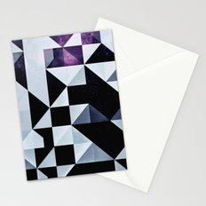 qyxt pixel Stationery Cards