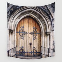 doors Wall Tapestries featuring Doors by JMcCool