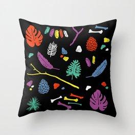 Organisms Throw Pillow