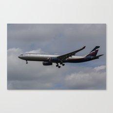 Aeroflot Airbus A330 Canvas Print