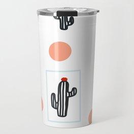 Corals & Cacti Travel Mug