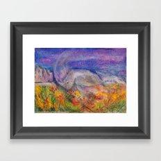 Rhino Wave Framed Art Print