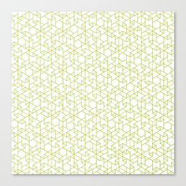 Jali Fusion - Green Canvas Print