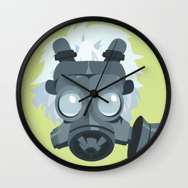 Clear. Wall Clock