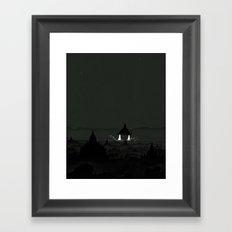 Crepuscule Framed Art Print