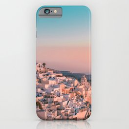 Sunset in Greece Photography  iPhone Case