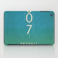 skyfall iPad Cases featuring skyfall by alex lodermeier