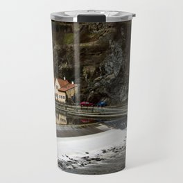 Little Cesky Krumlov Neighbourhood Travel Mug