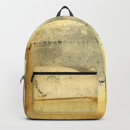 Distressed Paper Art Eleven Backpack