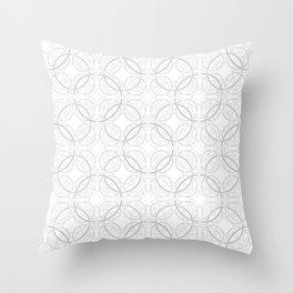 Rondo Grey Throw Pillow