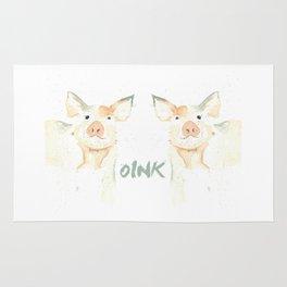 Piggie Oink Rug