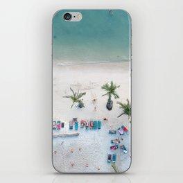 Aerial Koh Phangan Beach iPhone Skin