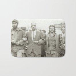 Che Guevara, Fidel Castro and Revolutionaries Bath Mat