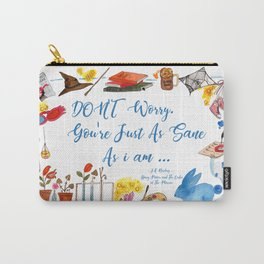 Luna's Quote Carry-All Pouch