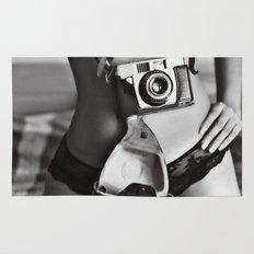 The photographer. Rug