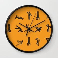 Breakit Wall Clock